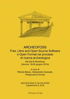 Archeologia e Calcolatori, supplemento 8, 2016